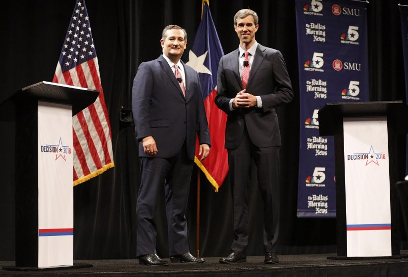 Cruz-O'Rourke Debate Punctuated by Clashes on Immigrants, Kavanaugh, NFL Protests