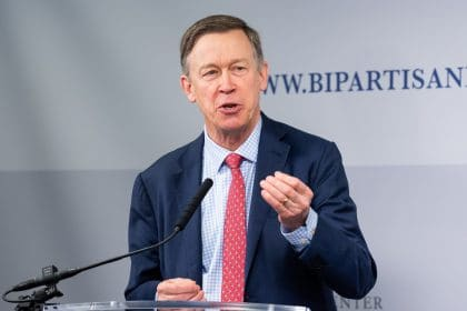 Hickenlooper Opens White House Bid Casting Himself as Bipartisan Uniter