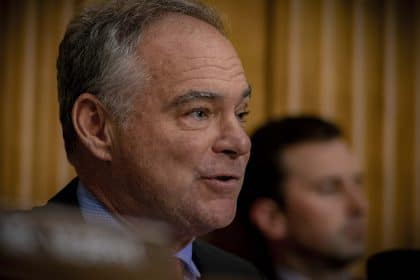 White House Withholds Details on Military Cuts to Influence Veto Override Vote, Kaine Says