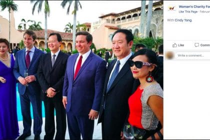 Spa Operator Brought Head of US Chinese Communist Party Group to Mingle With Trump Aides